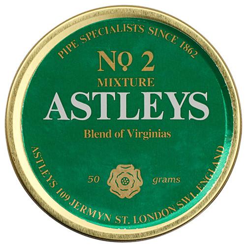 Astleys No. 2 Mixture Pipe Tobacco   1.75 OZ TIN