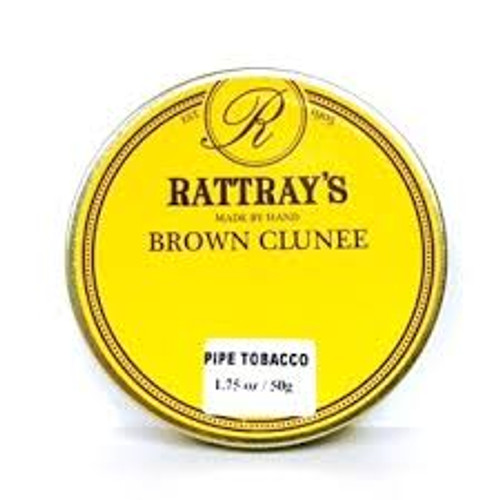 Rattray's Brown Clunee Pipe Tobacco | 1.75 OZ TIN