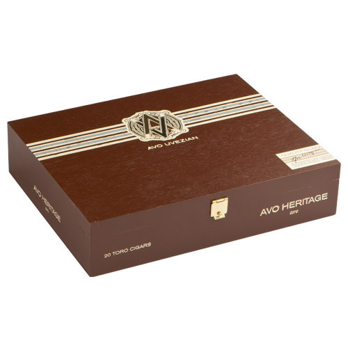 AVO Heritage Short Torpedo Cigars - 4.5 x 52 (Box of 20)