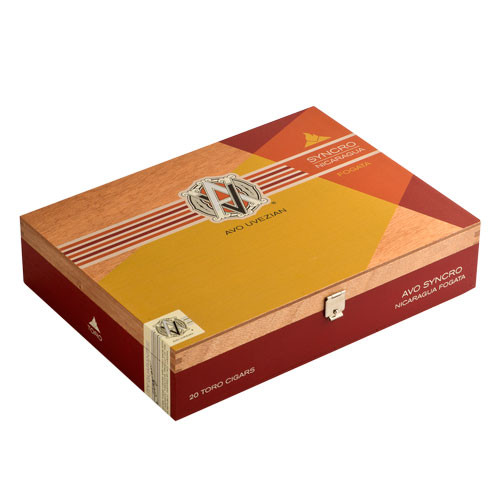 AVO Syncro Nicaragua Fogata Short Torpedo Cigars - 4.5 x 50 (Box of 20)