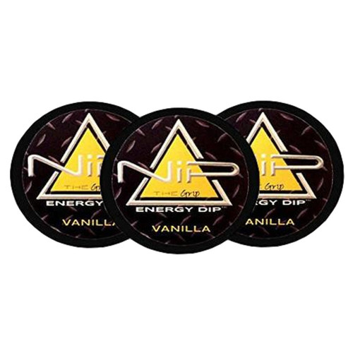 Nip Energy Dip - Vanilla 3 Cans - Non-Tobacco Nicotine Free Smokeless Alternative