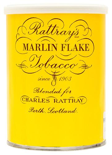 Rattray's Marlin Flake Pipe Tobacco | 3.5 OZ TIN