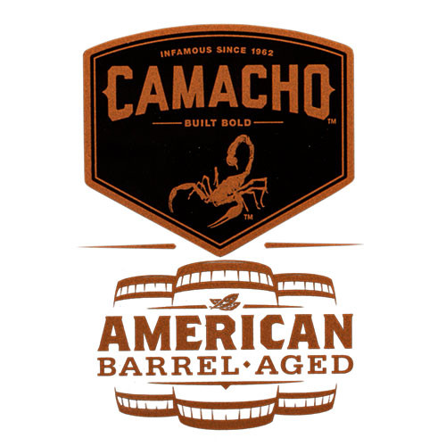 Camacho American Barrel-Aged Robusto Tubo Cigars - 5 x 50 (Box of 20)