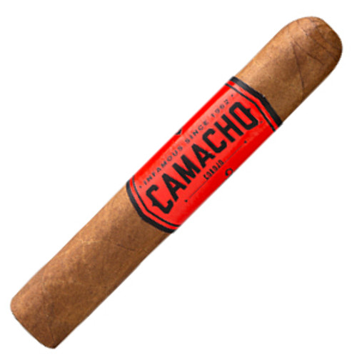 Camacho Corojo Rubusto Tubo Cigars - 5 x 50 (Box of 20)