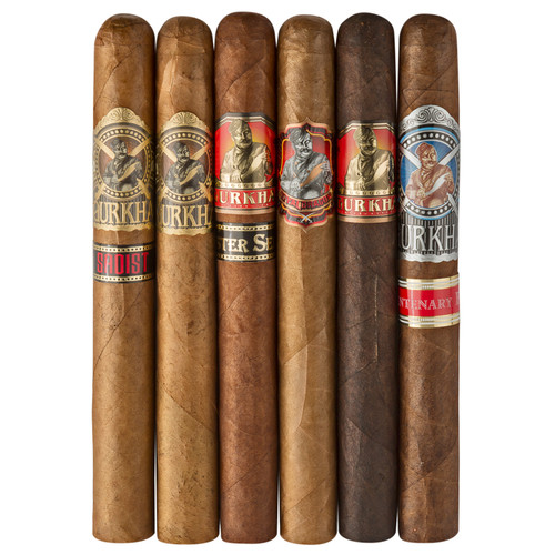 Cigar Samplers Gurkha Aficionado Churchill Collection (Pack of 6)