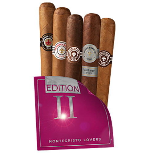 Cigar Samplers Montecristo Lovers Edition II (Pack of 5)