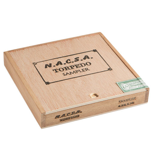 Cigar Samplers NACSA Torpedo Sampler Cigars - 6.75 x 54 (Box of 8)