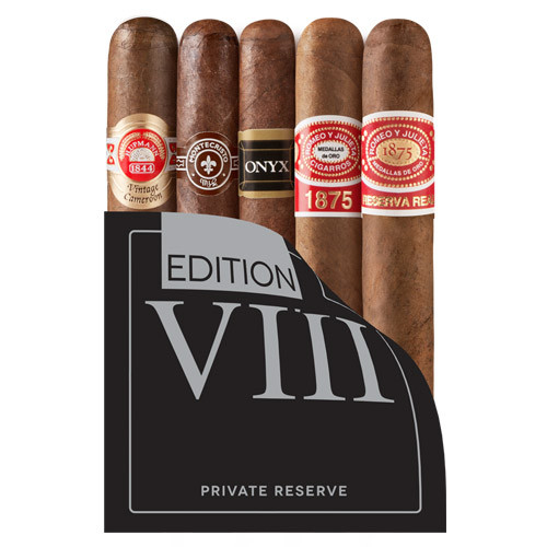 Cigar Samplers Private Reserve Edition VIII (Pack of 5)