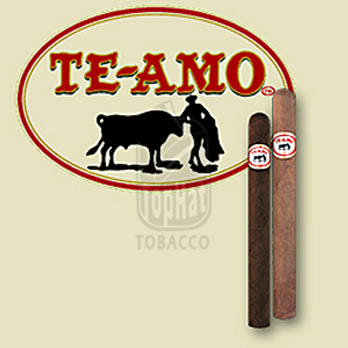 Te-Amo Toro Cigars - 6 x 50 (Box of 25)