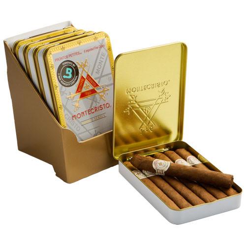 Montecristo White Series Prontos Petites Cigars - 4 x 33 (5 Tins of 6 (30 Total))