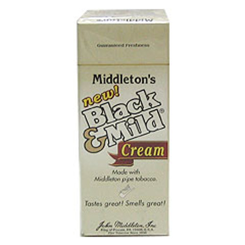 Black and Mild Cream Cigars (Box of 25) - Natural