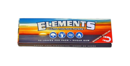 Elements 1 1/4 Rolling Papers 1ct FRESH Juicy Hemp Raw