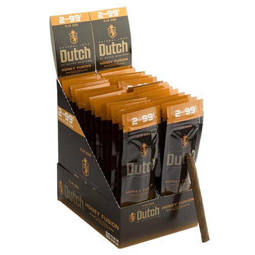 Dutch Masters Cigarillos Honey Fusion Cigars (30 Packs of 2) - Natural
