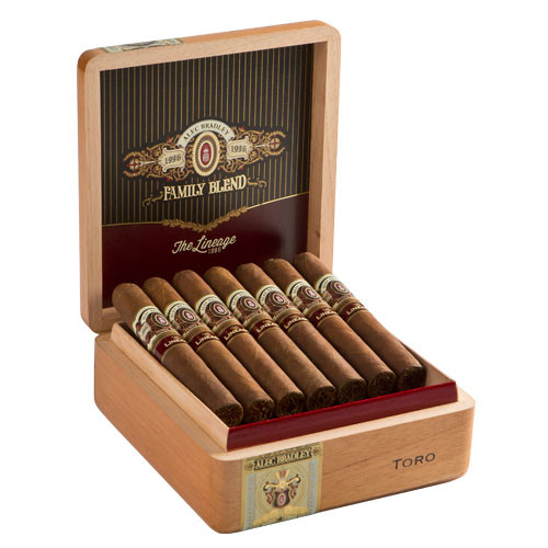 Alec Bradley Family Blend The Lineage Toro Cigars - 6 x 54 (Box of 20)