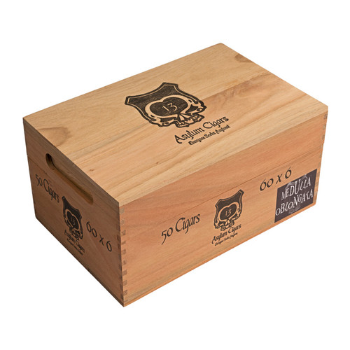 Asylum 13 Medulla Oblongata 60 X 6 Cigars - 6 x 60 (Box of 50)