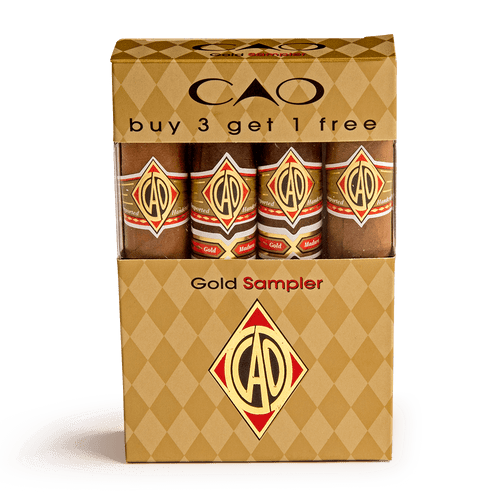 Cigar Samplers CAO Gold Sampler 4 Cigar (Box of 4)