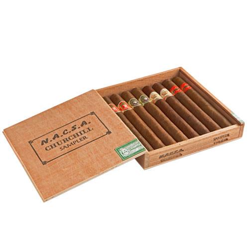 Cigar Samplers NACSA Churchill Sampler Cigars - 7.25 x 54 (Box of 8)