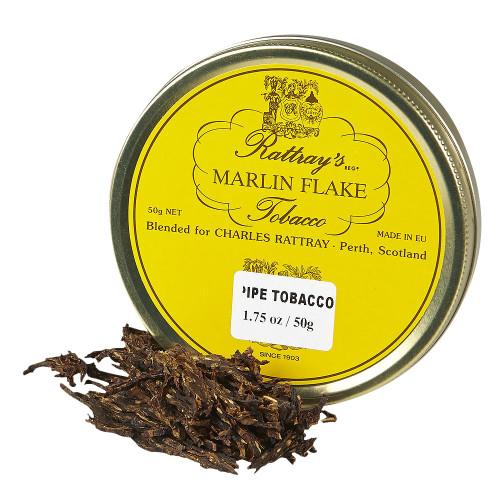 Rattray's Marlin Flake Pipe Tobacco | 1.75 OZ TIN