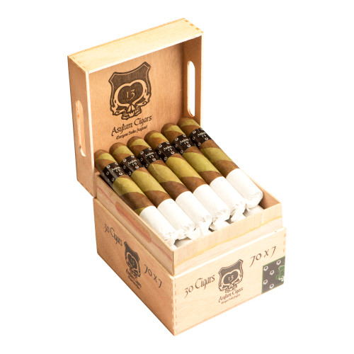 Asylum 13 The Ogre 770 Cigars - 7 x 70 (Box of 30)