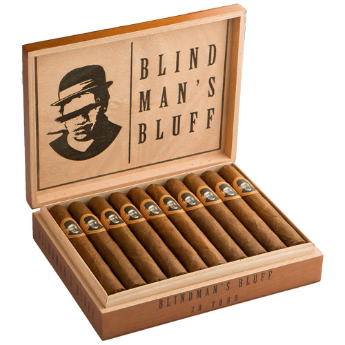 Blind Man's Bluff by Caldwell Cigar Co. Toro Maduro Cigars - 6 x 52 (Box of 20)