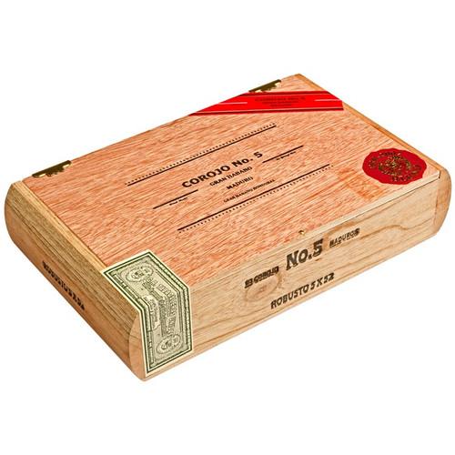 Gran Habano #5 Maduro Robusto Cigars - 5 x 52 (Box of 20)