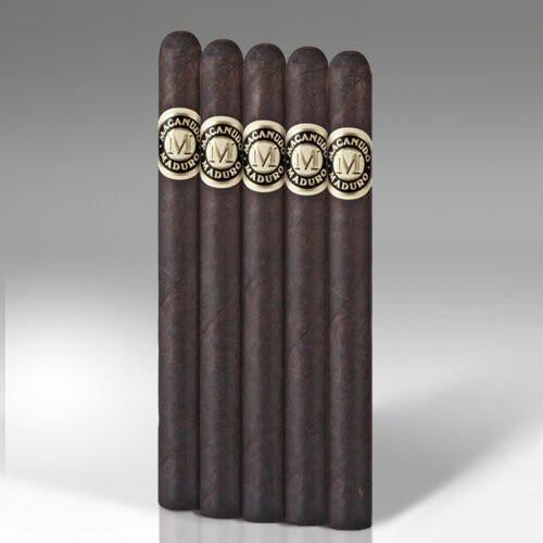 Macanudo Maduro Rothschild Cigars - 6.5 x 42 (Pack of 5)