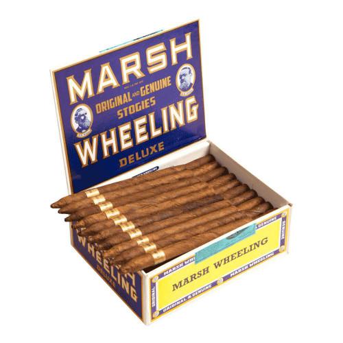 Marsh Wheeling Deluxe Light Cigars - 7 x 34 (Box of 50)