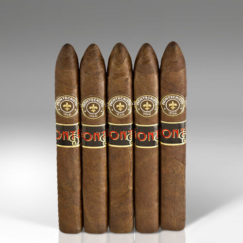 Monte by Montecristo Jacopo No. 2 Square Pressed Cigars - 6.12 x 54 (Pack of 5)