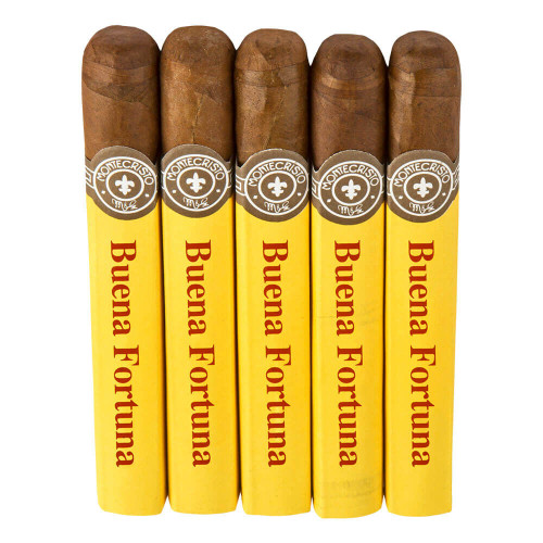 Montecristo 2000 Buena Fortuna Cigars - 5 x 47 (Pack of 5)
