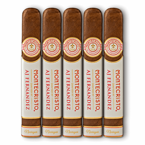 Montecristo Crafted by AJ Fernandez Churchill Cigars - 7 x 50 (Pack of 5)