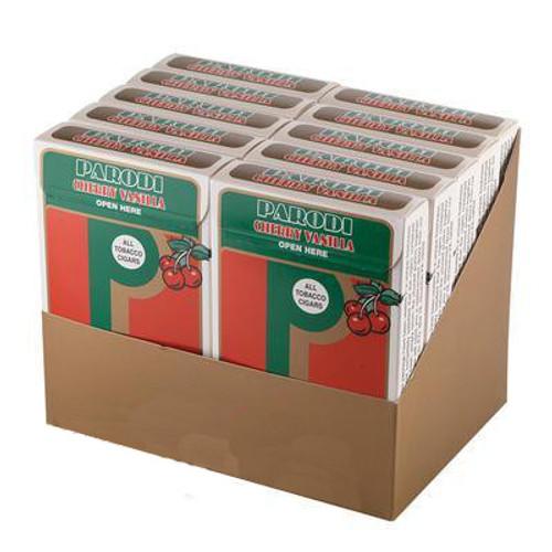Parodi Cherry Vanilla Cigars (10 Packs of 5) - Natural