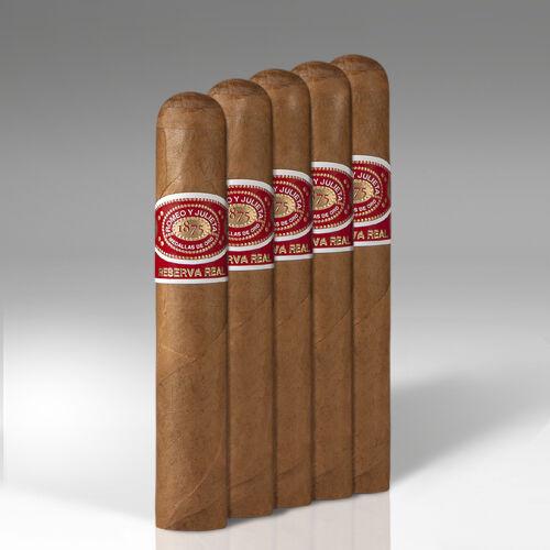 Romeo y Julieta Reserva Real Robusto Cigars - 5 x 52 (Pack of 5)