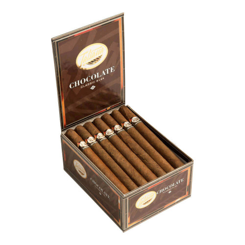 Tatiana Classic Chocolate Cigars - 6 x 44 (Box of 25)