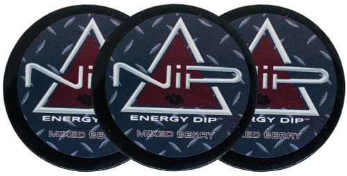 Nip Energy Dip Mixed Berry 3 Cans