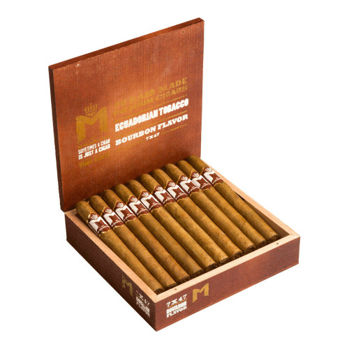M Bourbon by Macanudo Churchill Cigars - 7.0 x 47 (Box of 20)