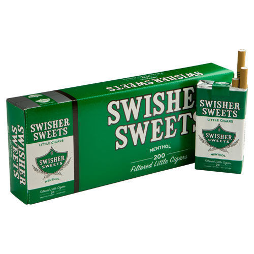 Swisher Sweets Little Cigars Menthol - 3.75 x 24 (10 Packs of 20 (200 total))