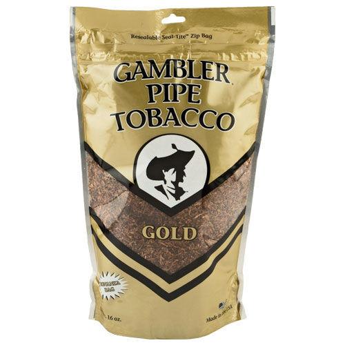 Gambler Mellow Pipe Tobacco | 16 Oz. Bag