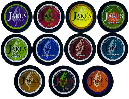 Jake's Mint Herbal Chew Multi Can