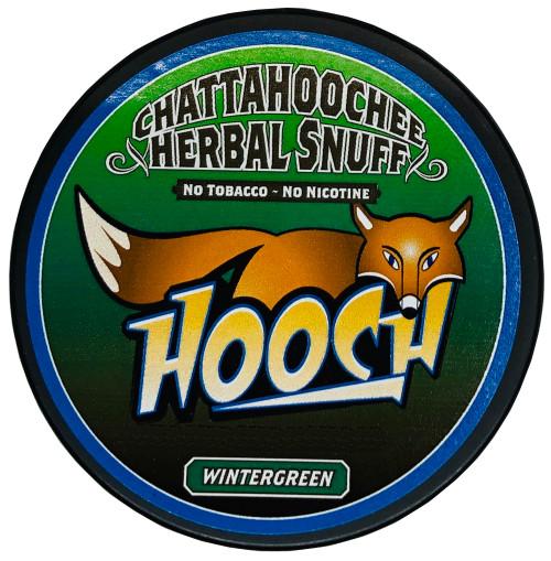 Hooch Herbal Snuff Pouch Packs 1 Can Wintergreen