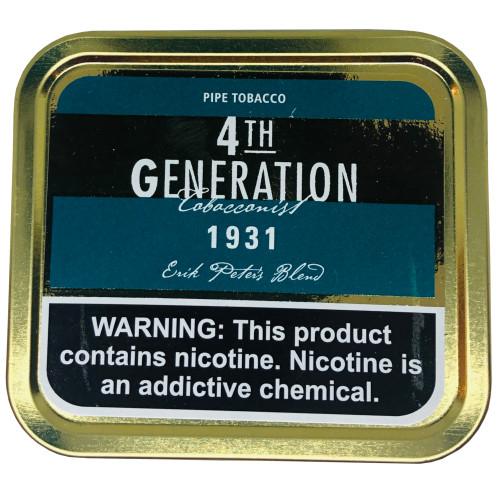 4th Generation Pipe Tobacco 1931 1.4 OZ Tin