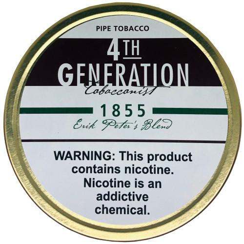 4th Generation Pipe Tobacco 1855 1.4 OZ Tin