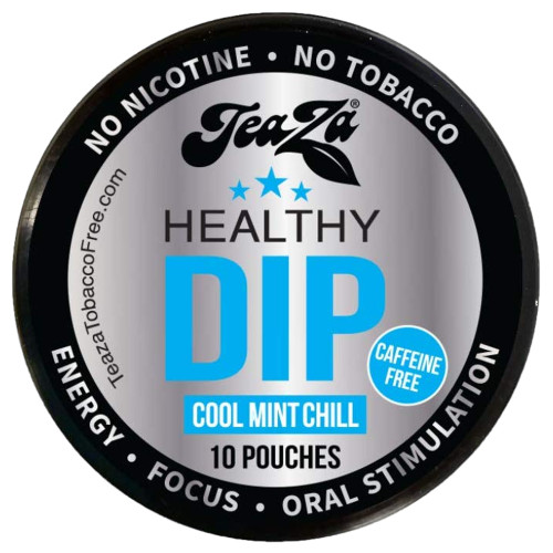 Teaza Energy Dip Pouches Cool Mint 1 Can