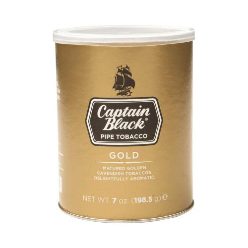 Captain Black Gold Pipe Tobacco 7 OZ TIN