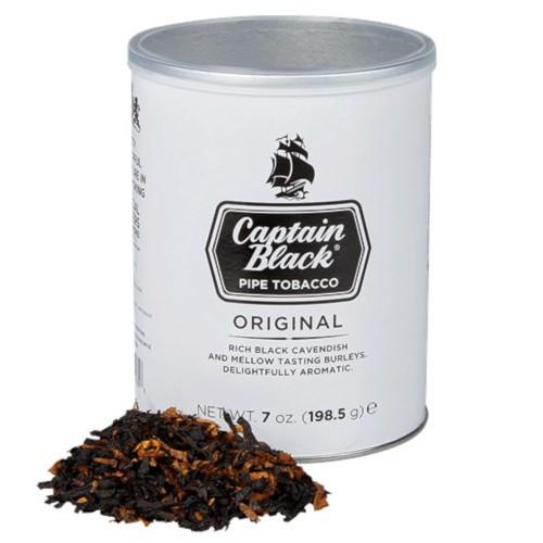 Captain Black Regular Pipe Tobacco 7 OZ TIN