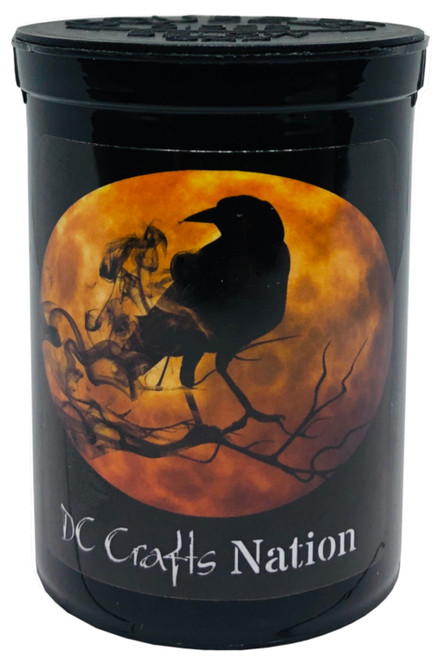 Full Moon Crow Fresh Kettle Child Resistant Container