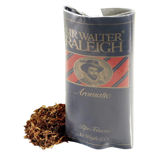 Sir Walter Raleigh Aromatic Pipe Tobacco   1.5 OZ POUCH - 6 COUNT