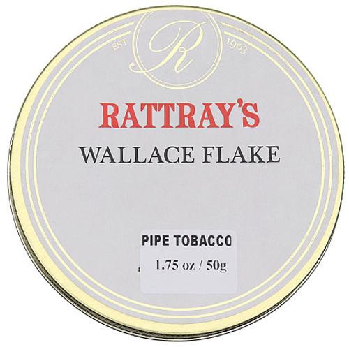 Rattray's Wallace Flake Pipe Tobacco | 1.75 OZ TIN