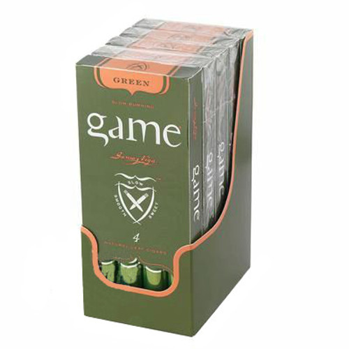 Garcia Y Vega Game Palma Foil Fresh Green Cigars (4 packs of 5) - Candela