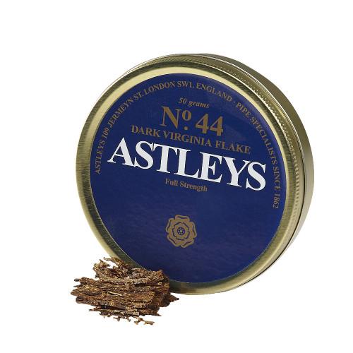 Astleys No. 44 Dark Virginia Flake Pipe Tobacco | 1.75 OZ TIN