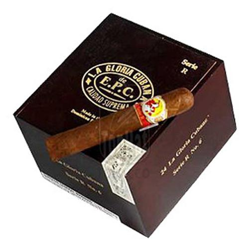 La Gloria Cubana Serie R No. 6 Cigars - 5 3/4 x 60 (Box of 24)